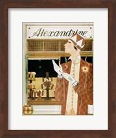 Framed Alexandrine Gloves Accessories Paris 1925