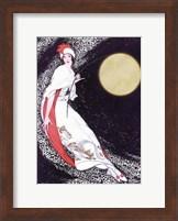 Framed Moon Fairy Canvas 2a