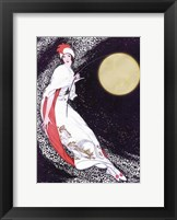 Framed Moon Fairy Canvas 2a