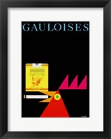 Framed Gauloises