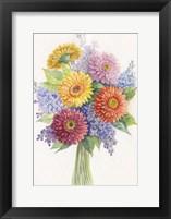 Framed Bunch of Flowers