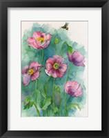 Framed Pink Blooms