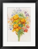 Framed Orange Flowers