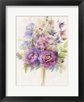 Framed Purple Blooms