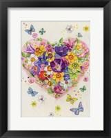 Framed Flowering Heart