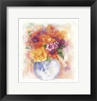 Framed Rosas Amar