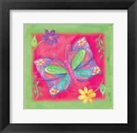 Framed Butterfly 2