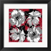 Framed Exuberand Red