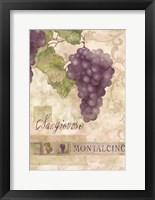 Framed Montalcino Sangiovese 2