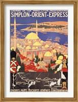 Framed Orient Express