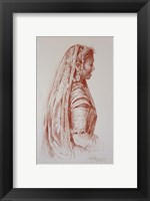 Framed Sari