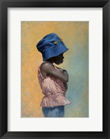 Framed Girl with Hat