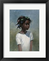 Framed Girl White
