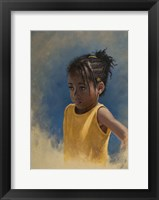 Framed Girl Yellow