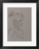 Framed Girl Sketch