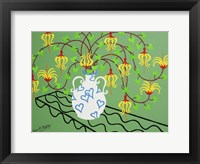 Framed Heart Vase