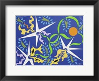 Framed Abstract Design