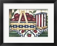 Framed Apple Harvest