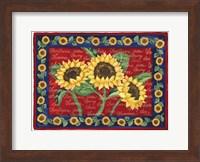 Framed Sunflower Design