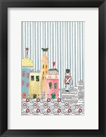 Framed Tin Soldier Sailing