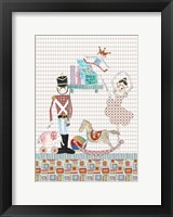 Framed Steadfast Tin Soldier And His Ballerina