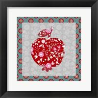 Framed Pomegranate Charm
