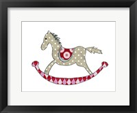Framed Rocking Horse