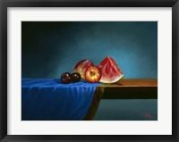Framed Fruit on Display