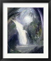 Framed Abstract Waterfall