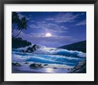 Framed Moon Rising