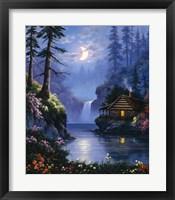 Framed Wood Cabin