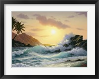 Framed Crashing Waves