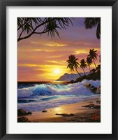 Framed Tropical Shores