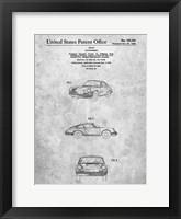 Framed Porsche Patent