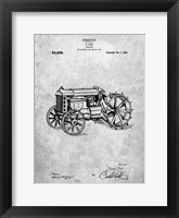 Framed Tractor Patent