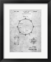 Framed Drum Key Holder Patent