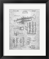 Framed Musical Instrument Patent
