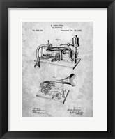 Framed Gramophone Patent