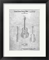 Framed Guitar or Similar Article Patent