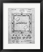 Framed Board Game Apparatus Patent