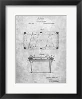 Framed Billiard Cushion Patent