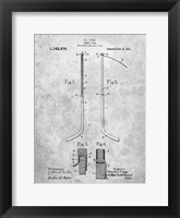 Framed Hockey Stick Patent