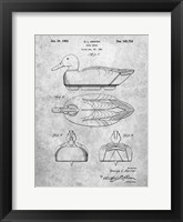 Framed Duck Decoy Patent