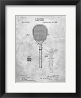 Framed Tennis Racket Patent