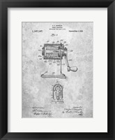 Framed Pencil Sharpener Patent