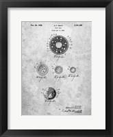 Framed Golf Ball Patent