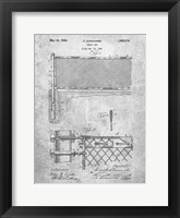 Framed Tennis Net Patent