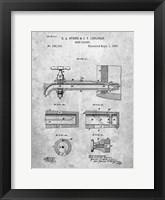 Framed Beer Faucet Patent