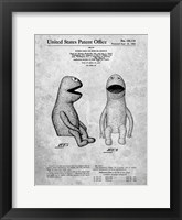 Framed Puppet Doll or Similar Article Patent