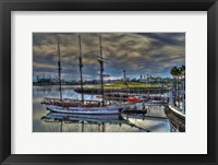 Framed Harbor Town